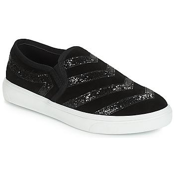 Chaussures Femme Slip ons André LOUXOR Noir