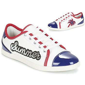 Chaussures Femme Baskets basses André LIMONADE Blanc