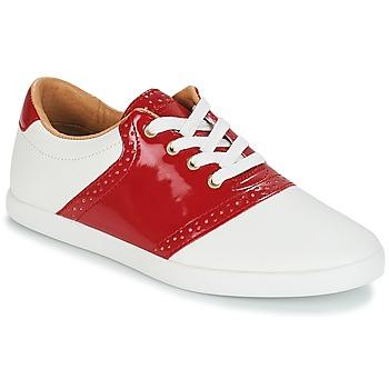 Chaussures Femme Baskets basses André LIZZIE Rouge