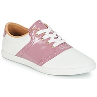 Chaussures Femme Baskets basses André LIZZIE Rose
