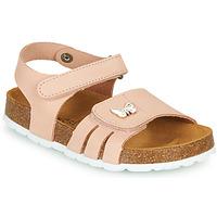 Chaussures Fille Sandales et Nu-pieds André PAPILLON Rose