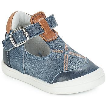 Chaussures Enfant Ballerines / babies André POCHOIR Bleu