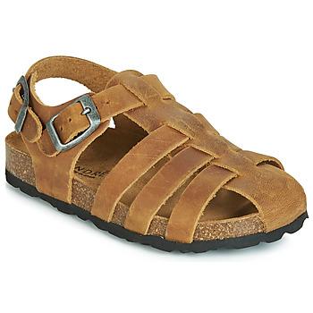 Chaussures Fille Sandales et Nu-pieds André TOTEM Camel