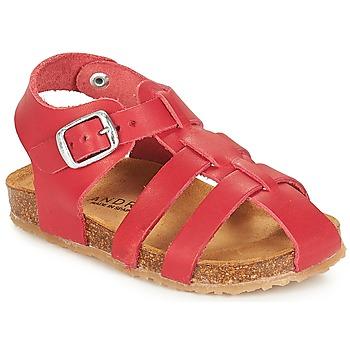 Chaussures Garçon Sandales et Nu-pieds André AVIRON Rouge