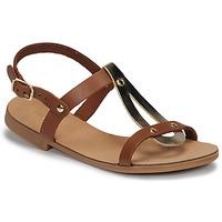 Chaussures Fille Sandales et Nu-pieds André TOUFOU E Camel