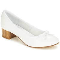 Chaussures Femme Ballerines / babies André POETESSE Blanc