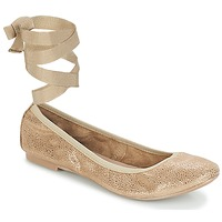 Chaussures Femme Ballerines / babies André ACTEE Taupe