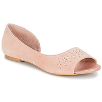 Chaussures Femme Ballerines / babies André HELIA Rose