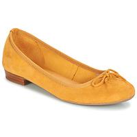 Chaussures Femme Ballerines / babies André CINDY Jaune