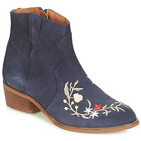 Chaussures Femme Boots André WEST Marine