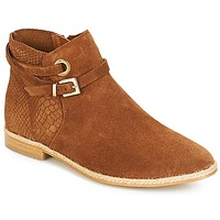 Chaussures Femme Boots André IDAHO Camel