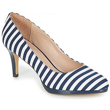 Chaussures Femme Escarpins André CRYSTAL Raye bleu