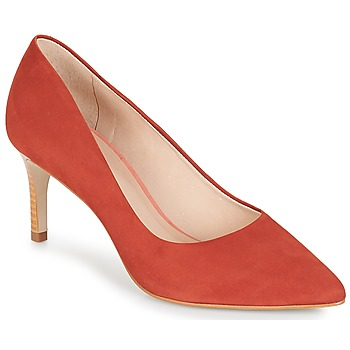 Chaussures Femme Escarpins André SCARLET Rouge / Orange