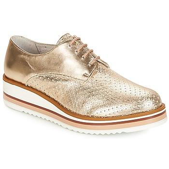 Chaussures Femme Derbies André FLORIANE Or