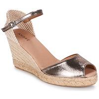 Chaussures Femme Espadrilles André CADIX Or