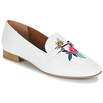 Chaussures Femme Mocassins André HENSON Blanc
