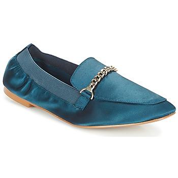 Chaussures Femme Mocassins André AMULETTE Bleu