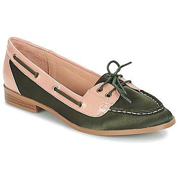 Chaussures Femme Chaussures bateau André NONETTE Kaki