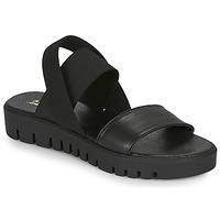 Chaussures Femme Sandales et Nu-pieds André EMY Noir