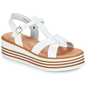 Chaussures Femme Sandales et Nu-pieds André LUANA Blanc