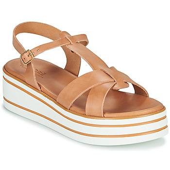 Chaussures Femme Sandales et Nu-pieds André LUANA Camel