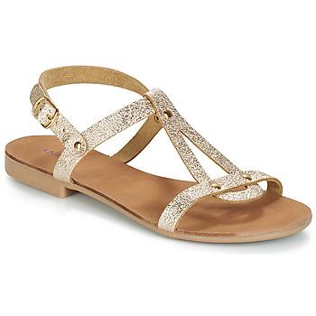 Chaussures Femme Sandales et Nu-pieds André TOUFOU Or