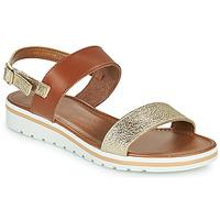 Chaussures Femme Sandales et Nu-pieds André ZANDORA Or