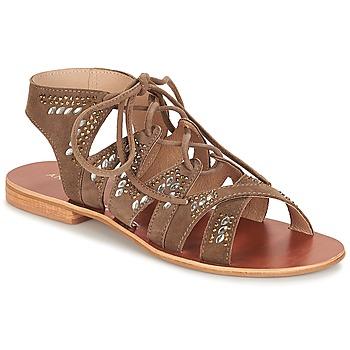 Chaussures Femme Sandales et Nu-pieds André MAUPITI Marron