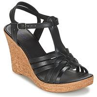 Chaussures Femme Sandales et Nu-pieds André FABULEUSE Noir