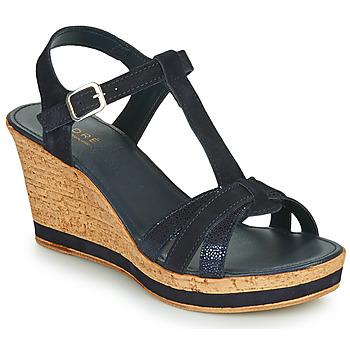 Chaussures Femme Sandales et Nu-pieds André ALOE Marine
