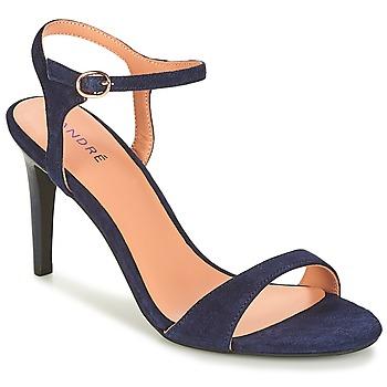 Chaussures Femme Sandales et Nu-pieds André SAXO Marine