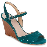 Chaussures Femme Sandales et Nu-pieds André BECKY Turquoise