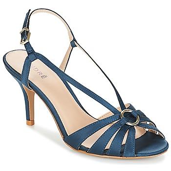 Chaussures Femme Sandales et Nu-pieds André MIRABELLE Bleu