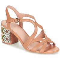Chaussures Femme Sandales et Nu-pieds André SAMBA Camel