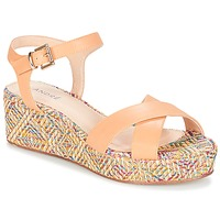 Chaussures Femme Sandales et Nu-pieds André KEA Ecru