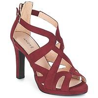Chaussures Femme Sandales et Nu-pieds André CHARLESTON Bordeaux