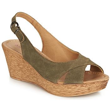 Chaussures Femme Sandales et Nu-pieds André DESTINY Kaki