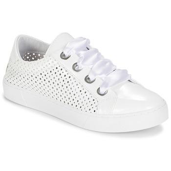 Chaussures Femme Baskets basses André BEST Blanc