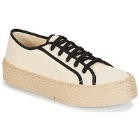 Chaussures Femme Baskets basses André LODGE Ecru