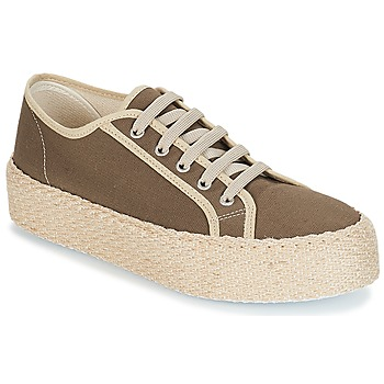 Chaussures Femme Baskets basses André LODGE Kaki