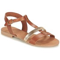 Chaussures Femme Sandales et Nu-pieds André CAYO COCOS Camel