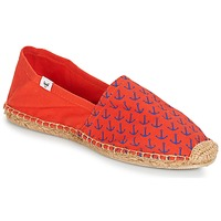 Chaussures Homme Espadrilles André OHE MATELOT Rouge