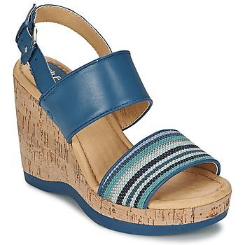 Chaussures Femme Sandales et Nu-pieds Hush puppies GRACE LUCCA Bleu