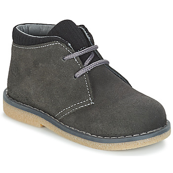 Chaussures Garçon Boots Citrouille et Compagnie JUSSA Gris