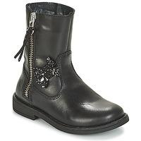 Chaussures Fille Boots Citrouille et Compagnie VARINDA Noir