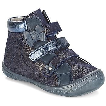 Chaussures Fille Boots Citrouille et Compagnie HODIL Bleu