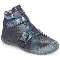 Chaussures Fille Baskets montantes Citrouille et Compagnie HISSOU Bleu