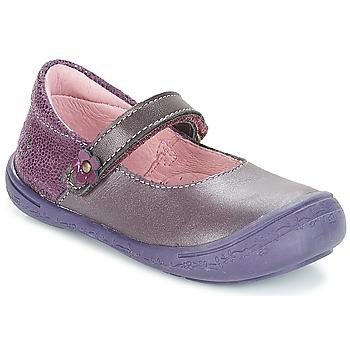 Chaussures Fille Ballerines / babies Citrouille et Compagnie ITSONBU Violet