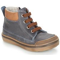 Chaussures Garçon Boots Citrouille et Compagnie JIK Bleu / Cocnac
