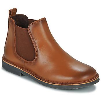 Chaussures Garçon Boots Citrouille et Compagnie HOVETTE Camel